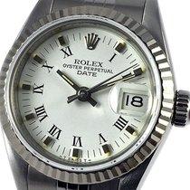 Rolex Lady-Datejust Acero 26mm Blanco Romanos España, Barcelona