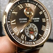 Ulysse Nardin Marine Chronometer Manufacture Or/Acier 43mm Brun