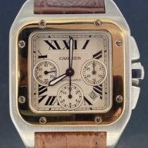 Cartier occasion Remontage automatique 41mm Blanc Verre saphir 10 ATM