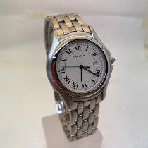 Cartier Cougar neu 1990 Quarz Uhr mit Original-Box und Original-Papieren 987904