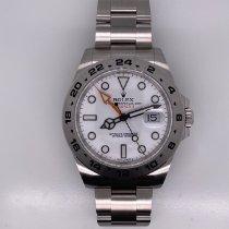 Rolex Explorer II Steel 42mm White No numerals United States of America, Texas, Houston