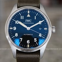 IWC Pilot Mark Steel 40mm Black Arabic numerals United States of America, Massachusetts, Milford