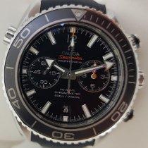 Omega Seamaster Planet Ocean Chronograph Acero 45.5mm Negro Sin cifras España, Lleida