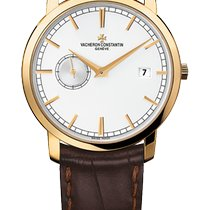 Vacheron Constantin Patrimony Yellow gold 38mm White United States of America, Florida, Sunny Isles Beach