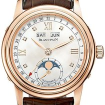 Blancpain Léman Moonphase Rose gold 34mm Mother of pearl Roman numerals United States of America, Florida, Sunny Isles Beach