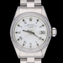 Rolex Oyster Perpetual Lady Date 6516 Very good Steel 26mm Automatic