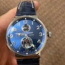 Ulysse Nardin Marine Chronometer 41mm Steel 41mm Blue Arabic numerals United States of America, Texas, FRISCO