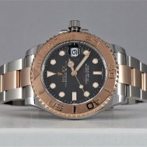 Rolex Yacht-Master 37 Gold/Steel 37mm Black No numerals United States of America, Texas, LEWISVILLE