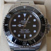 Rolex Sea-Dweller Deepsea Steel 44mm Black No numerals United Kingdom, Brackley