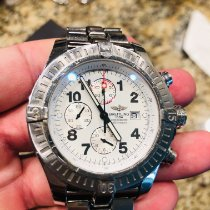 Breitling Super Avenger pre-owned 48mm White