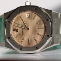 Audemars Piguet Royal Oak Jumbo Steel 39mm Pink No numerals