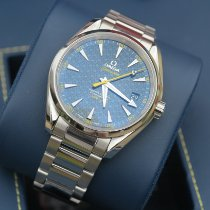 Omega Seamaster Aqua Terra Steel 41.5mm Blue No numerals United States of America, Texas, Lubbock