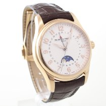 Frederique Constant Runabout Moonphase pre-owned 43mm Leather