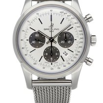 Breitling Transocean Chronograph AB015212/G724 Nieuw Staal 43mm Automatisch