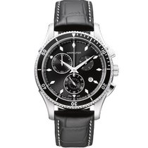 Hamilton Jazzmaster Seaview Steel 44mm Black United States of America, Massachusetts, Florence