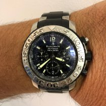 Blancpain pre-owned Automatic 40mm Black Sapphire crystal 20 ATM