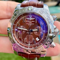 Breitling Chronomat 44 Steel 44mm Bordeaux No numerals United States of America, Texas, Plano