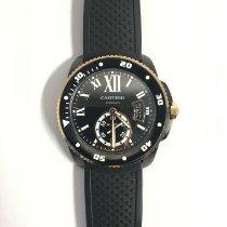 Cartier Calibre de Cartier Diver Acero 42mm Negro Romanos