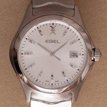 Ebel 1216200 Steel Wave 40mm new