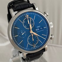 IWC Portofino Chronograph Steel 42mm Blue