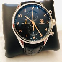 TAG Heuer Carrera Calibre 1887 Acier 43mm Noir Arabes France, PARIS