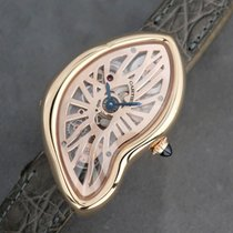Cartier Crash Or rose Transparent