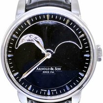Arnold & Son HM Perpetual Moon Steel 42mm Black No numerals United States of America, Florida