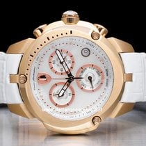 Tonino Lamborghini Shield Or/Acier 40mm Nacre