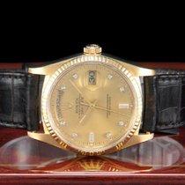 Rolex Day-Date 36 Gelbgold 36mm Gold Keine Ziffern Deutschland, Essen