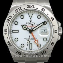 Rolex Explorer II Acier 42mm Blanc France, Paris