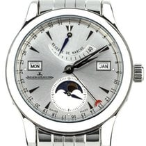 Jaeger-LeCoultre Master Calendar Steel 40mm Silver United States of America, Illinois, BUFFALO GROVE