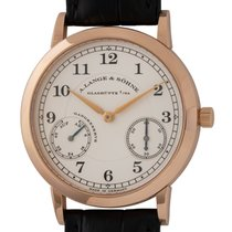 A. Lange & Söhne 1815 Rose gold 36mm Silver Arabic numerals United States of America, Texas, Austin