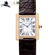 Cartier Tank Solo Rose gold 31mm Silver