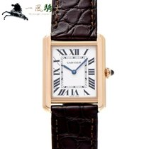 Cartier W5200024 Rose gold 2016 Tank Solo 31mm pre-owned