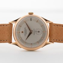 Universal Genève Very good Rose gold 34mm Manual winding
