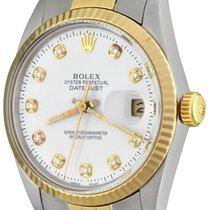 Rolex Datejust Acero 36mm Blanco Sin cifras