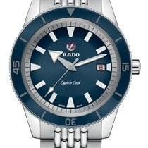 Rado HyperChrome Captain Cook Acero 42mm Azul
