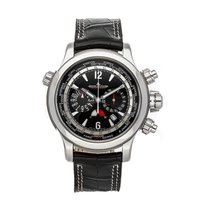 Jaeger-LeCoultre Master Compressor Extreme World Chronograph Steel 46.3mm Black No numerals United States of America, Pennsylvania, Bala Cynwyd