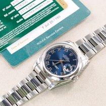 Rolex Datejust Steel 36mm Blue United Kingdom, Harrogate