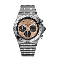 Breitling Chronomat neu 2021 Automatik Chronograph Uhr mit Original-Box und Original-Papieren AB0134101K1A1