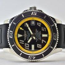 Breitling Superocean 42 Acero 41mm Negro Arábigos