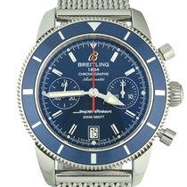 Breitling Superocean Heritage Chronograph Steel 44mm Blue