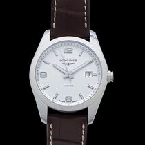 Longines Conquest Classic Steel 40mm Silver United States of America, California, Burlingame