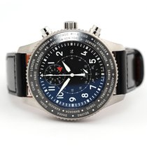 IWC Pilot Chronograph Steel 46mm Black Arabic numerals United States of America, Florida, Aventura
