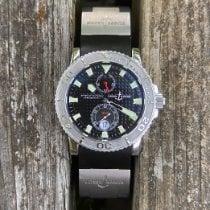 Ulysse Nardin Maxi Marine Diver Сталь 42.7mm Чёрный Без цифр