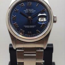 Rolex Datejust Acier 36mm Bleu France, LYON - Tassin La Demi Lune