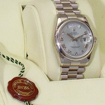 Rolex Day-Date 36 Platine 36mm Nacre Romains France, Paris