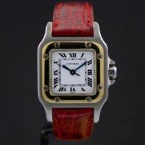 Cartier Oro/Acciaio Santos (submodel) 24mm usato