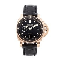 Panerai new Automatic Small seconds 42mm Rose gold Sapphire crystal