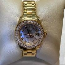 Rolex Lady-Datejust Pearlmaster nuevo Automático Reloj con estuche y documentos originales 80298